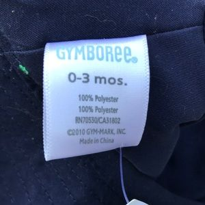 NEW Boys Size 12-24 Months Gymboree Sun Hat w// Alligator Snap Sides Chin Strap